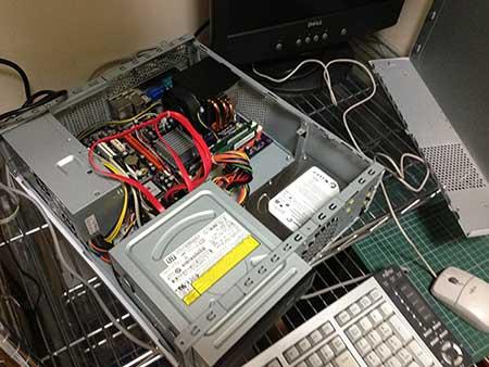 故障パソコンの修理
