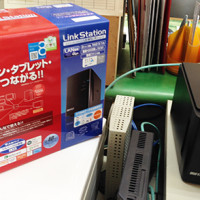 RAID機能付き、ネットワークハードディスク