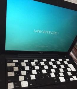 windows10を導入したパソコン